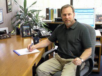 Paul in His office