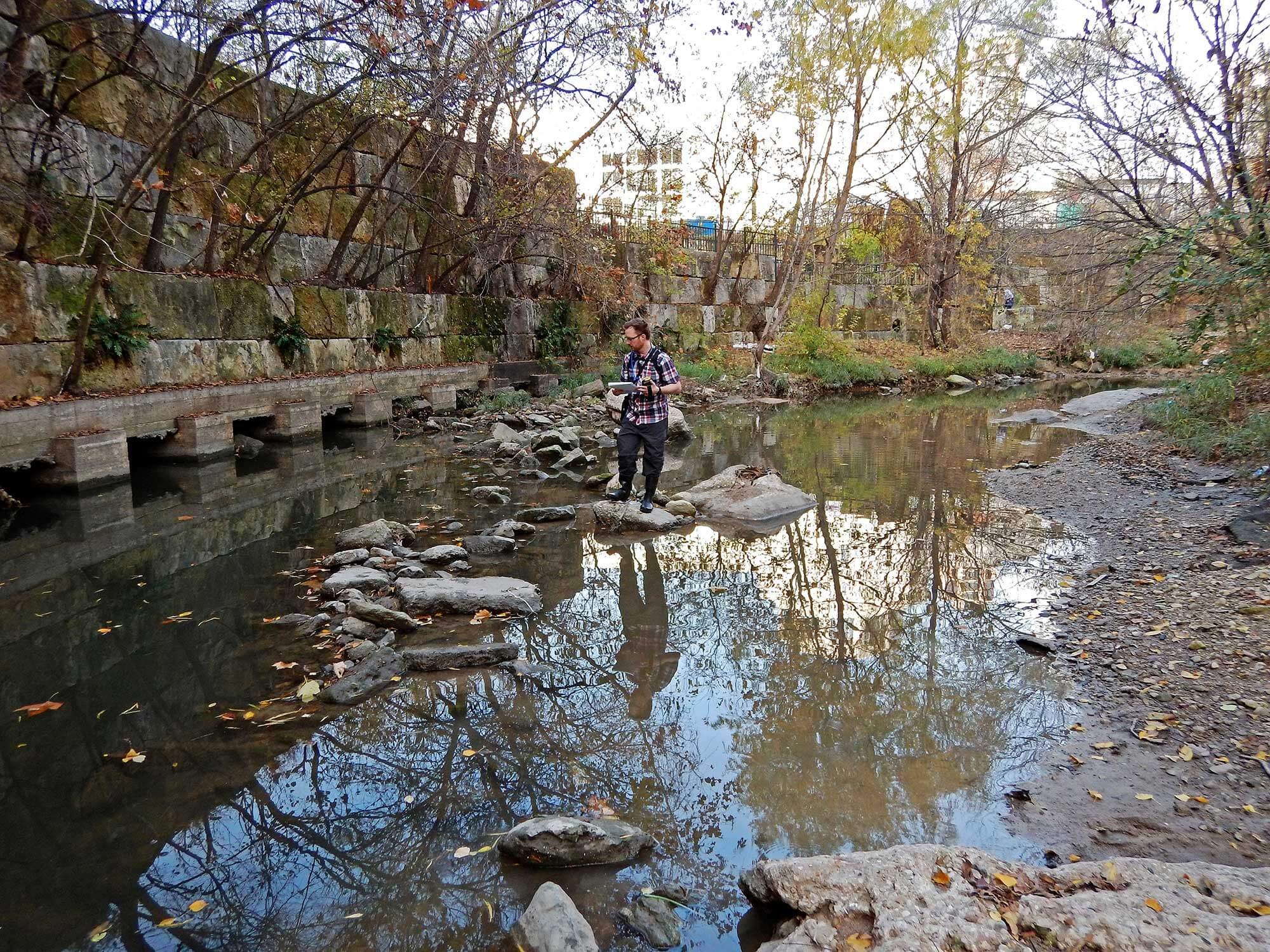Waller Creek, Austin, Texas (LimnoTech)