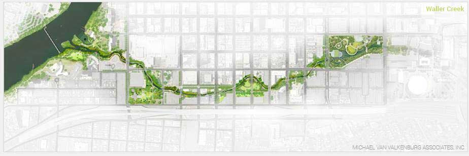Restoration and Revitalization of Waller Creek, Austin, Texas
