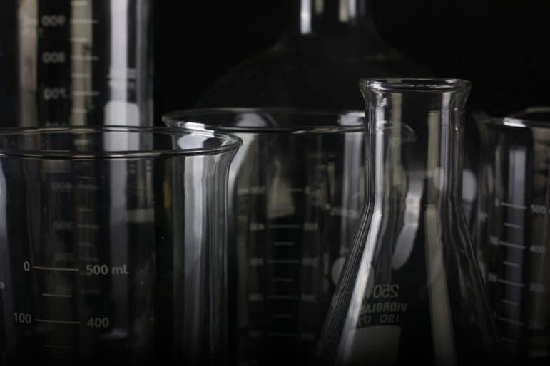Laboratory beakers