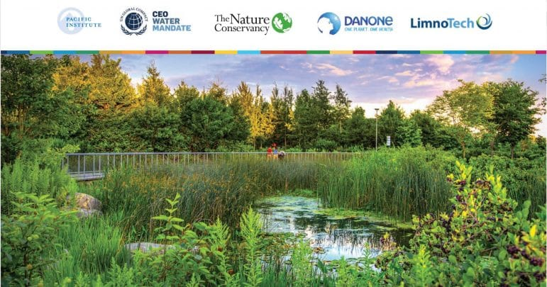 Benefit Accounting of Nature-Based Solutions for Watersheds Guide Cover