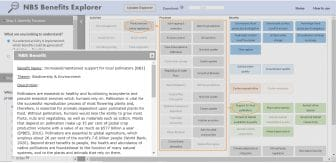 NBS Benefits Explorer Tool Example